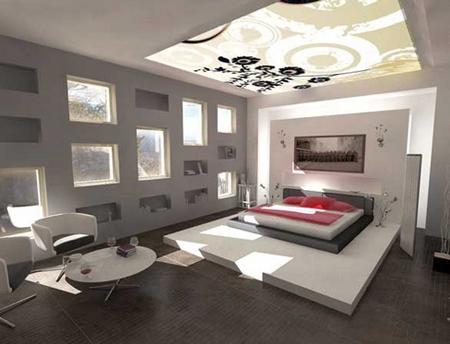 Tạo điểm nhấn cho căn nhà với vách kính nghệ thuật