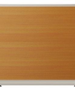 Vách ngăn nội thất fami khung nhôm ốp gỗ V60KT