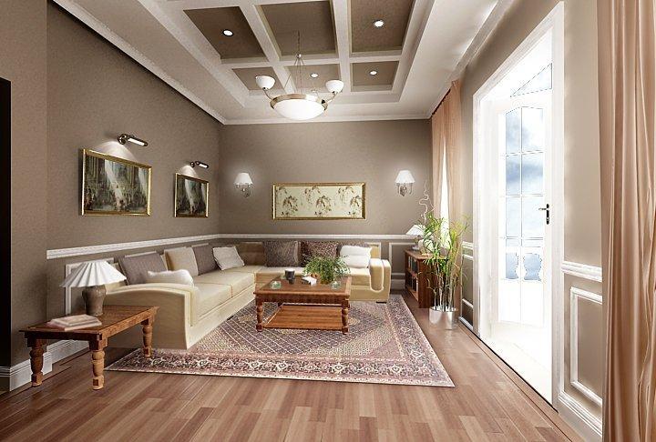 Vách ngăn thạch cao mang đến màu sắc phong phú cho căn nhà