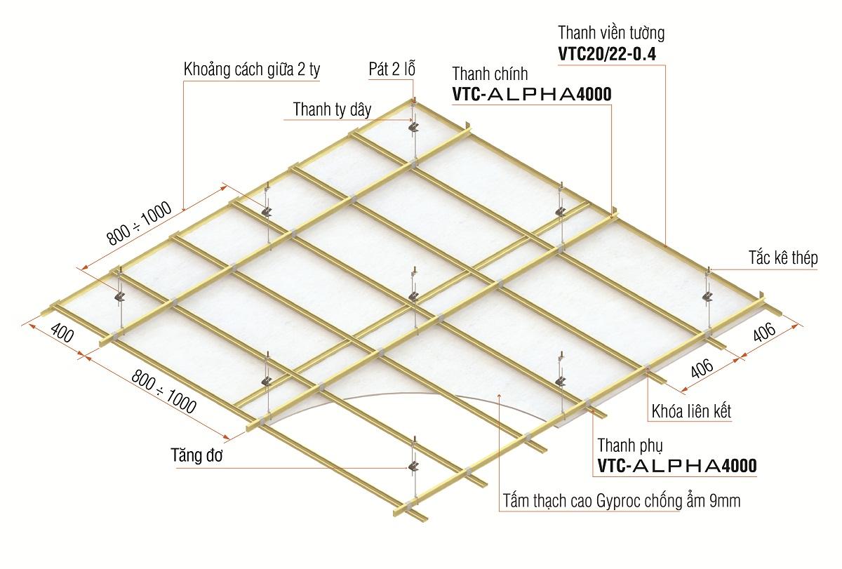 Trần thạch cao - giải pháp chống ẩm cho nhà ven biển