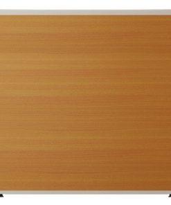Vách ngăn khung nhôm ốp gỗ nội thất fami V60