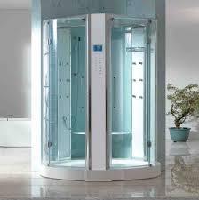 Không gian sang trọng của phòng tắm với vách kính 2