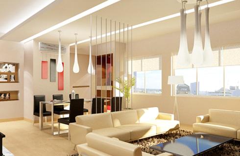 Thi công trần thạch cao cho căn hộ chung cư 1