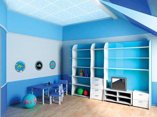 Thi công trần thạch cao cho căn hộ chung cư 4
