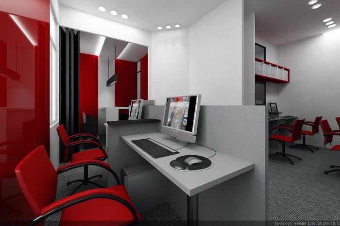 Thiết kế phòng làm việc sáng tạo 2