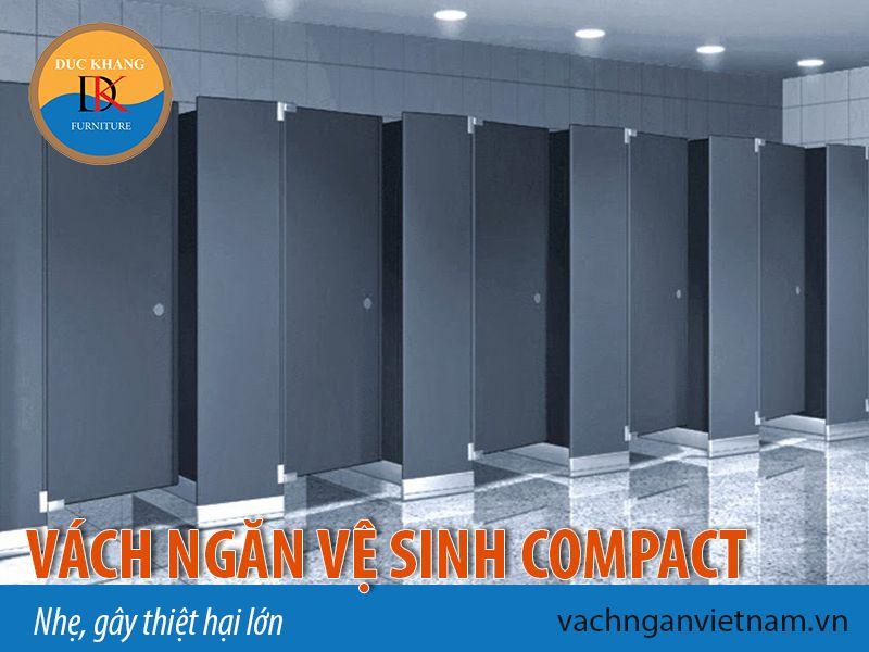 Vách ngăn vệ sinh compact nhẹ gây thiệt hại lớn