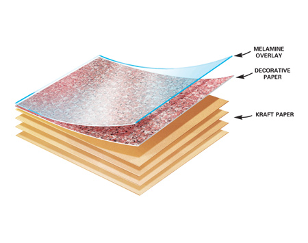 Vách ngăn vệ sinh với ưu điểm gỗ dán Laminate 2