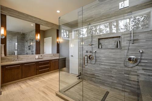 Xu hướng cửa nhôm kính thiết kế phòng tắm 2014