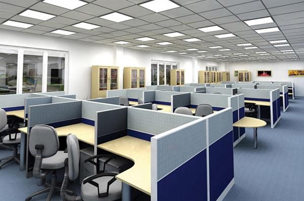 Vách ngăn văn phòng sử dụng chất liệu gì?