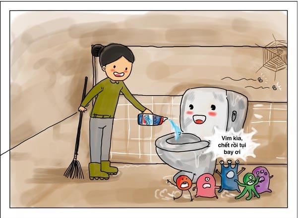 Cách bảo quản vách ngăn vệ sinh