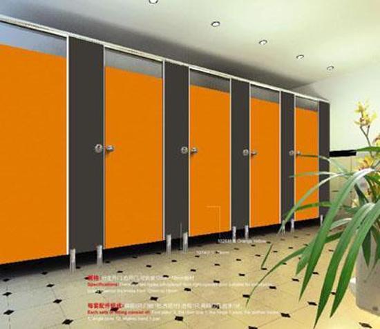 Lựa chọn màu, sử dụng vách ngăn vệ sinh Compact – HPL 12mm
