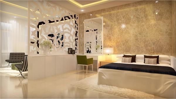 Phù phép cho phòng ngủ và phòng khách bằng vách ngăn di động