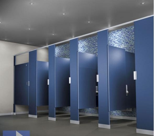 Mẹo làm sạch vách ngăn nhà tắm, nhà vệ sinh hiệu quả và tiết kiệm