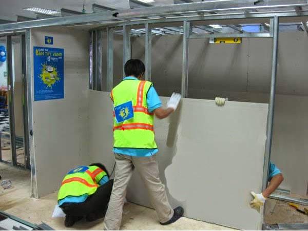 Cách khắc phục vách ngăn vệ sinh bị hư hỏng