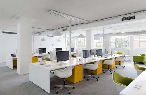 """Văn phòng không có vách ngăn liệu có dẫn đến """"stress"""""""