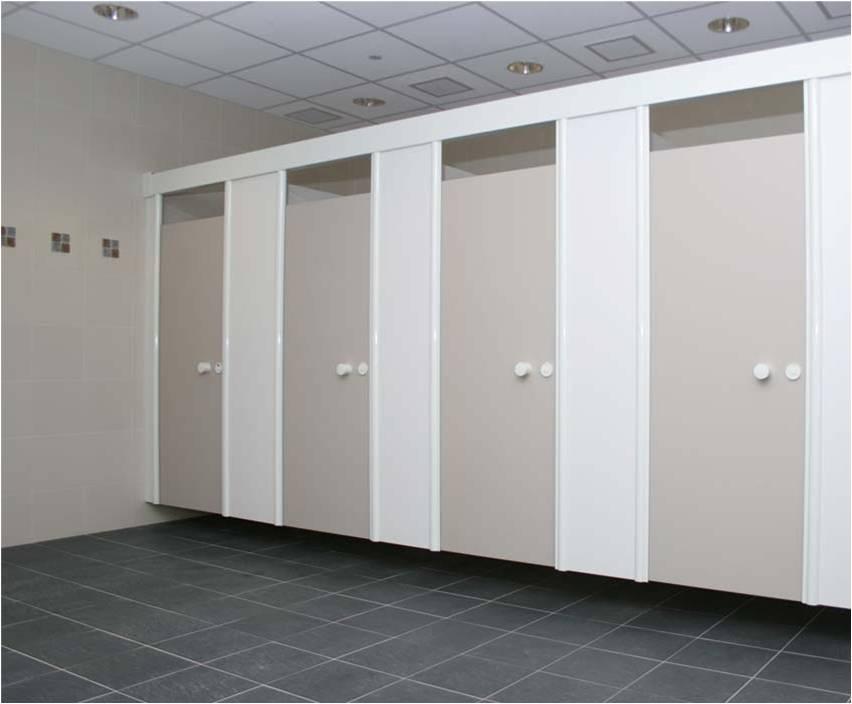 5 lý do chọn vách ngăn Compact làm vách ngăn vệ sinh