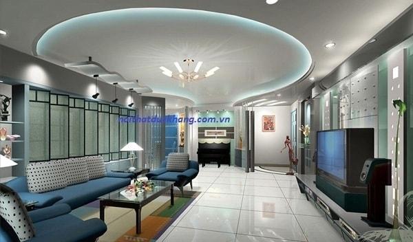 Ứng dụng trần thạch cao trong thiết kế nội thất
