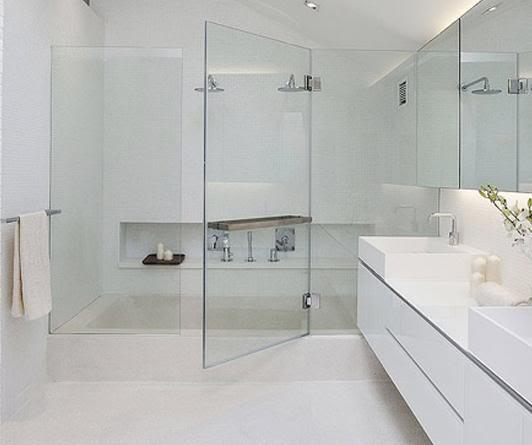 Phòng tắm kính mở trượt