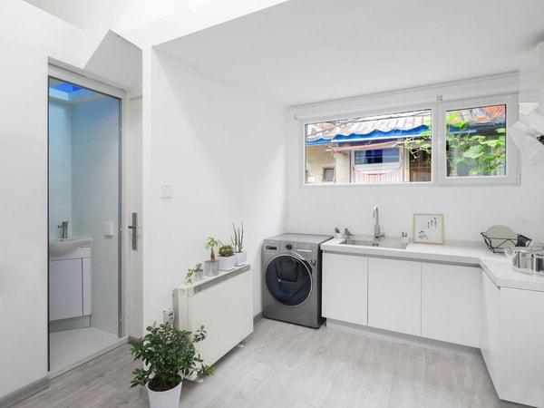Không nên thiết kế nhà bếp đối diện nhà vệ sinh