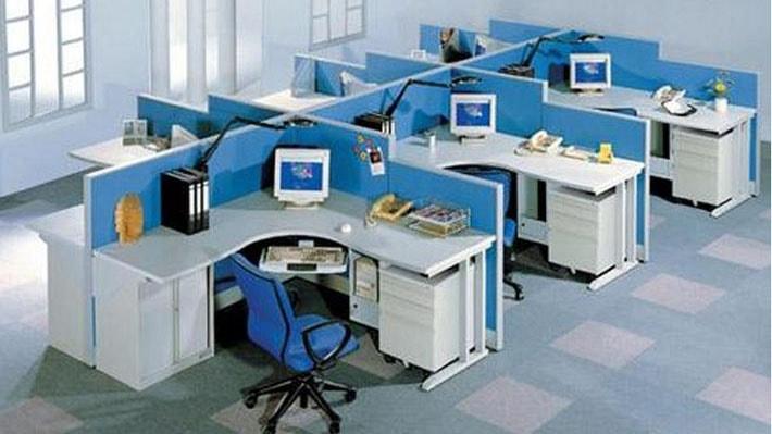 Module bàn làm việc rất được ưa chuộng trong văn phòng