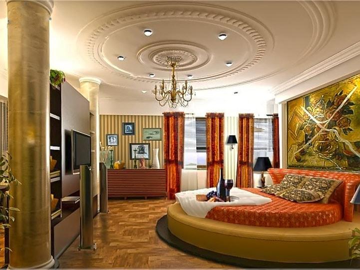 Trần thạch cao cho phòng ngủ đẹp mắt