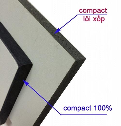 Những dấu hiệu nhận biết tấm Compact HPL là hàng giả bằng mắt thường