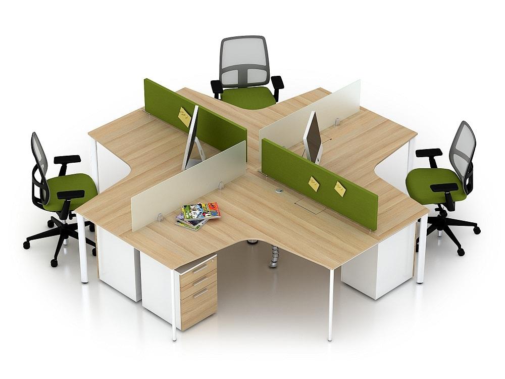 Module vách ngăn – bàn làm việc
