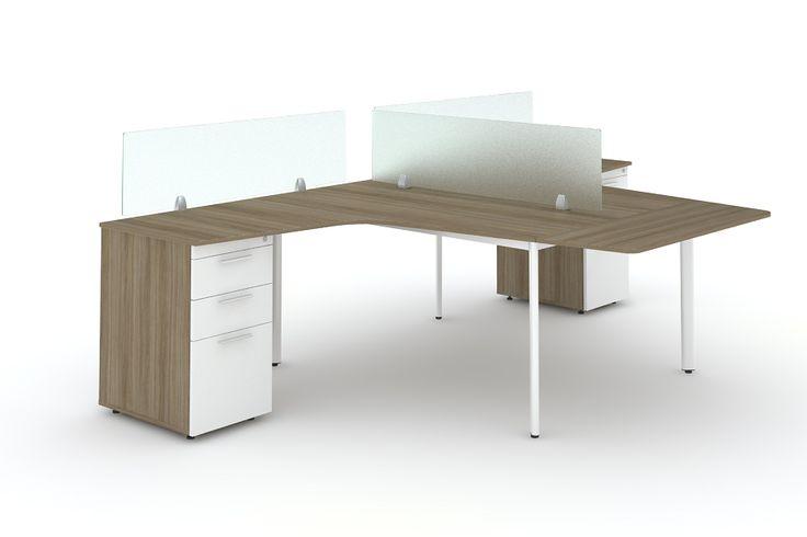 Module vách ngăn – bàn làm việc: Cho văn phòng hiện đại và tiện nghi