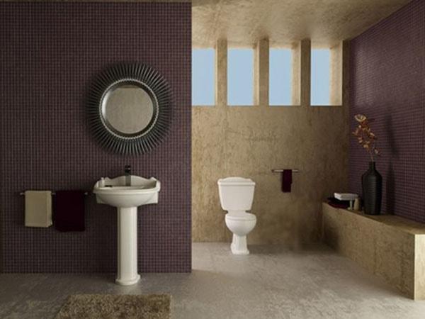 Mẹo hay khi thiết kế không gian vệ sinh trong nhà