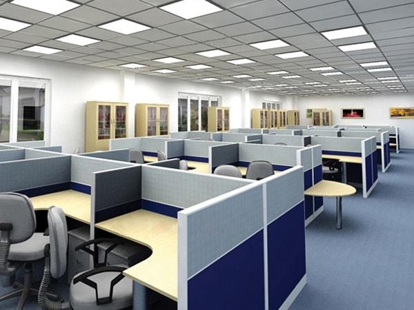Nên dùng vách ngăn văn phòng nỉ hay gỗ?