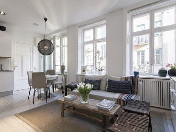 Thiết kế vách kính đẹp cho căn hộ gia đình