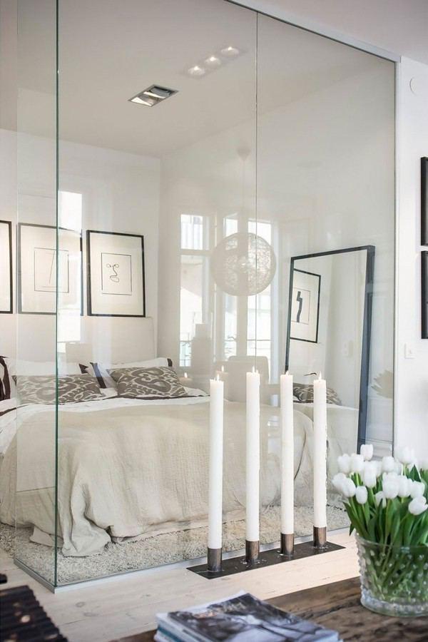 Thiết kế vách kính đẹp cho căn hộ
