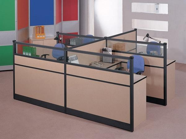 Vách ngăn gỗ thuộc loại dễ mua bởi giá không quá cao