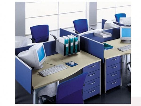 Vách ngăn văn phòng có tác dụng trang trí không gian văn phòng chuyên nghiệp và hiện đại hơn