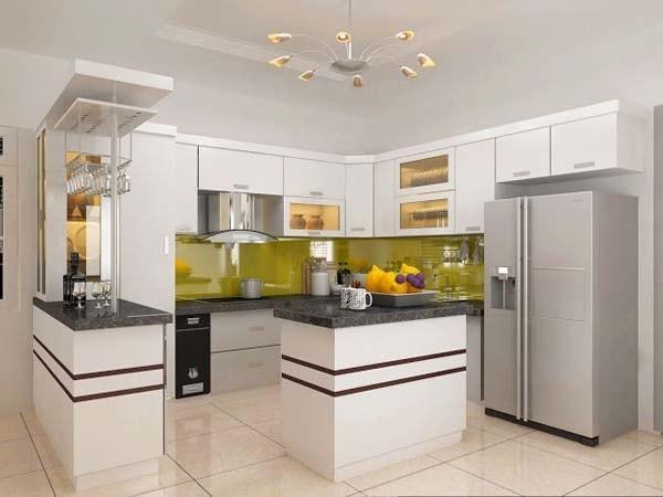 Những cách trang trí tường bếp đơn giản nhưng ấn tượng