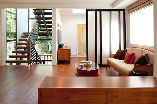 4 kiểu vách ngăn vừa đẹp vừa tiết kiệm diện tích cho nhà chật