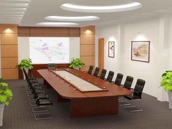 Ưu điểm của bàn họp oval