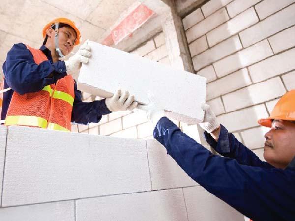 Gạch siêu nhẹ là một loại vật liệu xây dựng mới