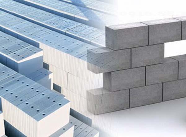 Gạch siêu nhẹ này có cấu tạo từ xu măng, tro nhiệt điện, sợi tổng hợp, chất tạo bọt