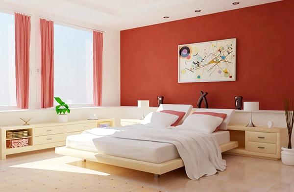 Chúng ta thường sai lầm khi chọn màu sơn cho phòng ngủ
