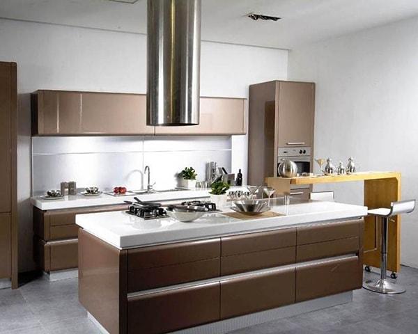 Cân bằng những yếu tố đối lập trong phòng bếp