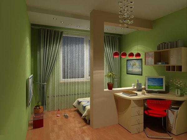 Vách ngăn thạch cao cho phòng ngủ giúp bạn biến không gian đẹp và sang trọng hơn