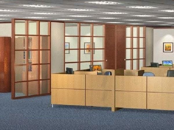 Các mẫu vách ngăn văn phòng nổi bật của nội thất Đức Khang