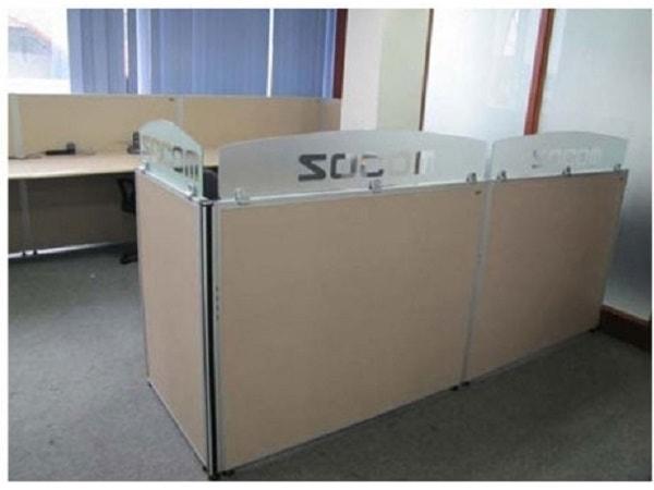 Các mẫu vách ngăn văn phòng nổi bật của nội thất Fami