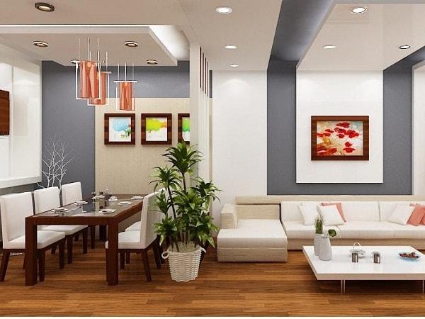 Gợi ý các kiểu vách ngăn phòng khách và phòng ăn hợp xu hướng