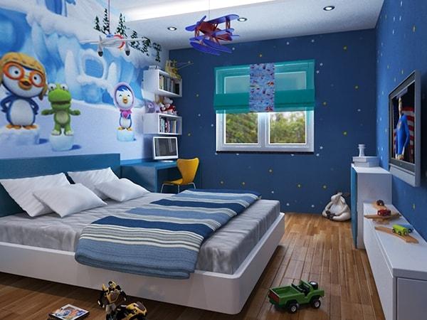 Cách lựa chọn và bài trí nội thất cho phòng ngủ của bé