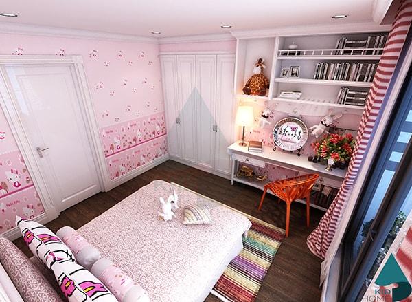 Cách bài trí nội thất cho phòng ngủ của bé