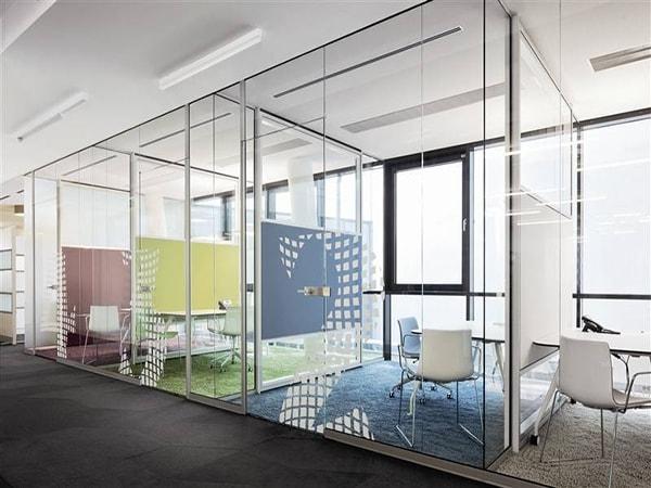 Xu hướng sử dụng vách ngăn cho văn phòng năm 2018