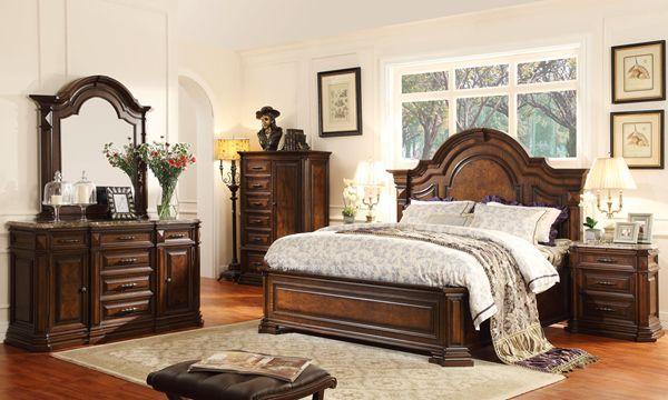 Chất liệu gỗ sang trọng, ấm cúng sẽ giúp phòng ngủ của bạn đẹp hơn