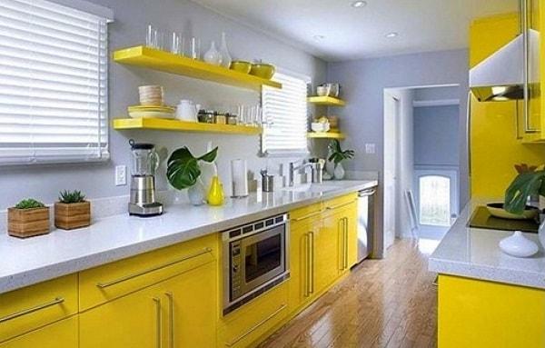 Màu sắc nên chọn trong phòng bếp của người mệnh Kim